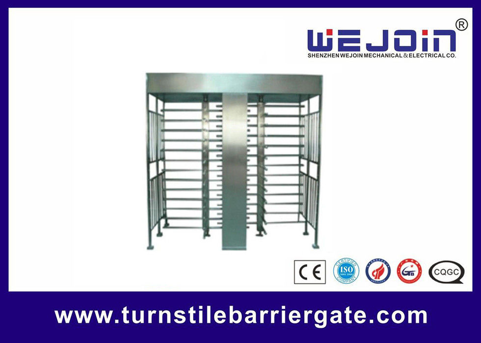 Stainless Steel Full Height Access Control Turnstile Gate CE Approved fournisseur
