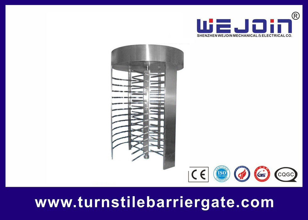 RFID barrier gate Security Full height Turnstile for Subway , Metro fournisseur