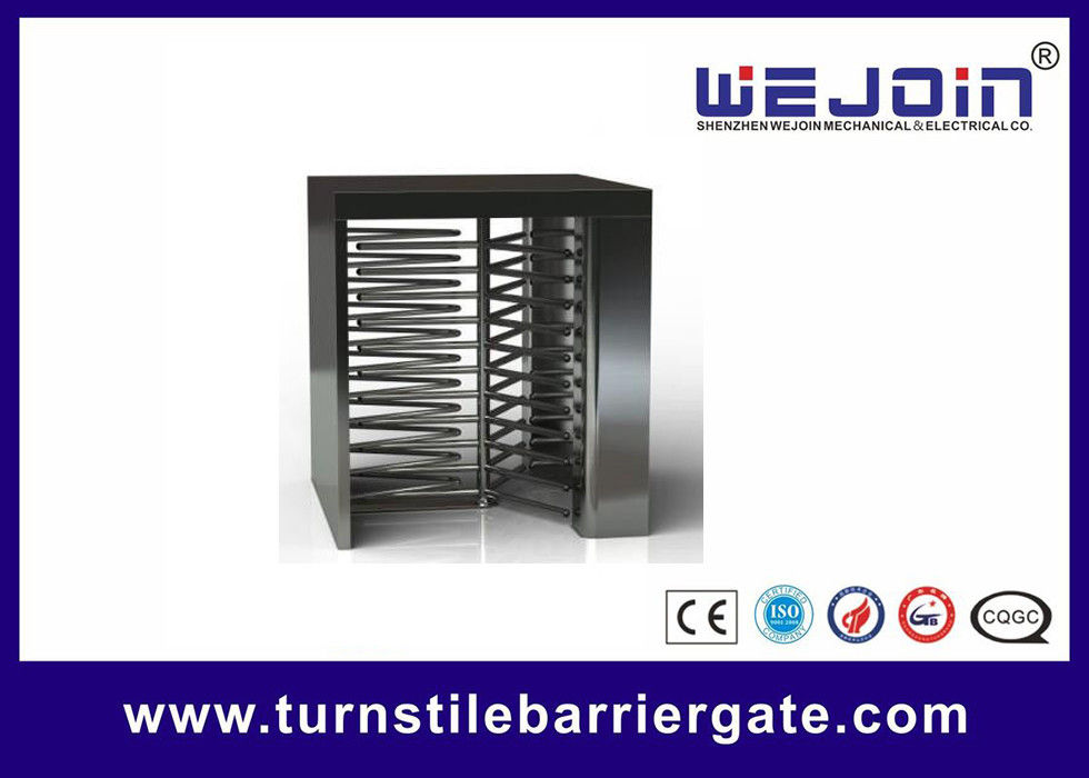 Counter Full Height Turnstiles pedestrian barrier gate With Control Panel fournisseur